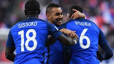 Tình cảm khăng khít của Moussa Sissoko và đồng đội