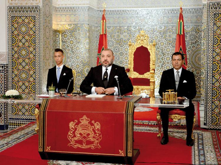 SM le Roi adresse un discours à la Nation, ce soir