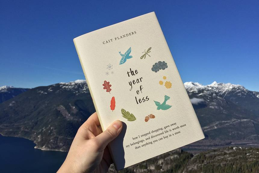 The Year of Less by Cait Flanders - Book Review