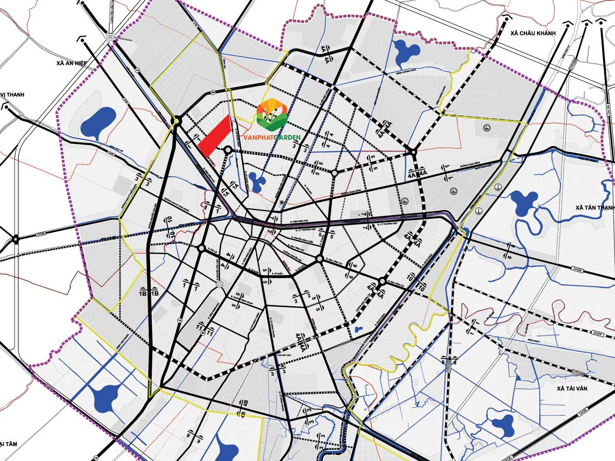 Quy hoạch giao thông dự án Vạn Phát Avenue