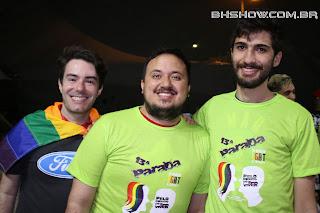IMG 0188 - 13ª Parada do Orgulho LGBT Contagem reuniu milhares de pessoas