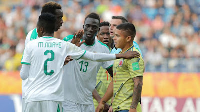 seleccion colombia sub 20 vs Senegal goles mundial 2019