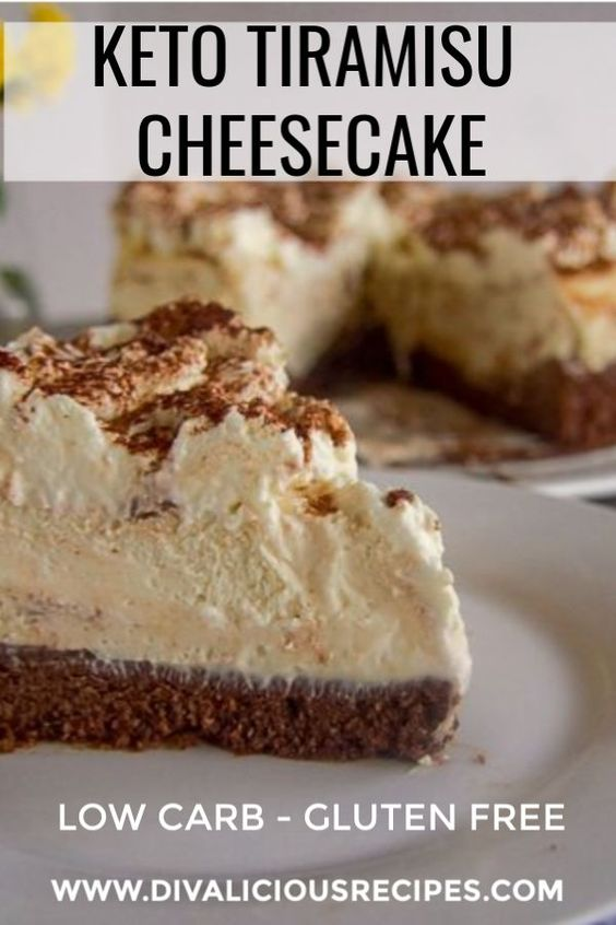 A low carb tiramisu cheesecake recipe that is easy to make.