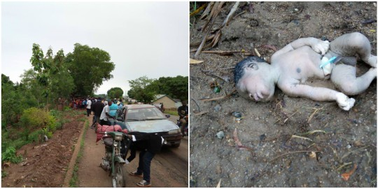 Rain Kills Baby Abandoned In Gutter In Benue State