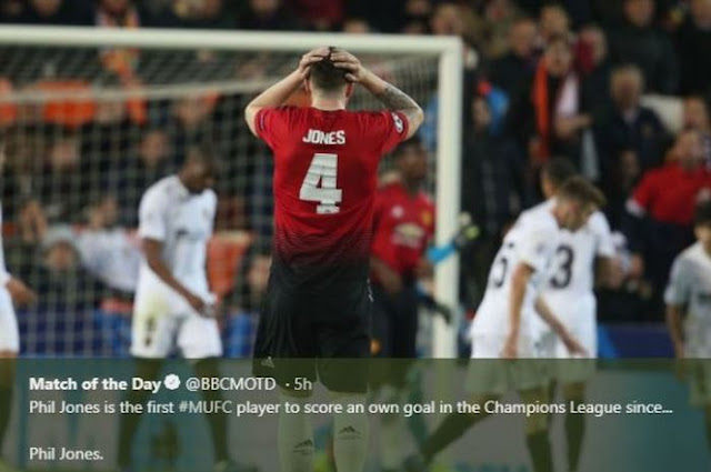 Two embarrassing moments for Manchester United defender in derby