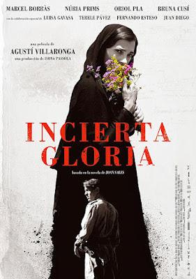 Cartel oficial español: Incierta gloria (2017)