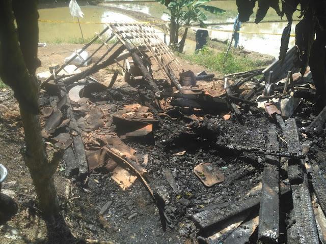 Mayat Hangus Terbakar Ditemukan di Pekon Purawiwitan