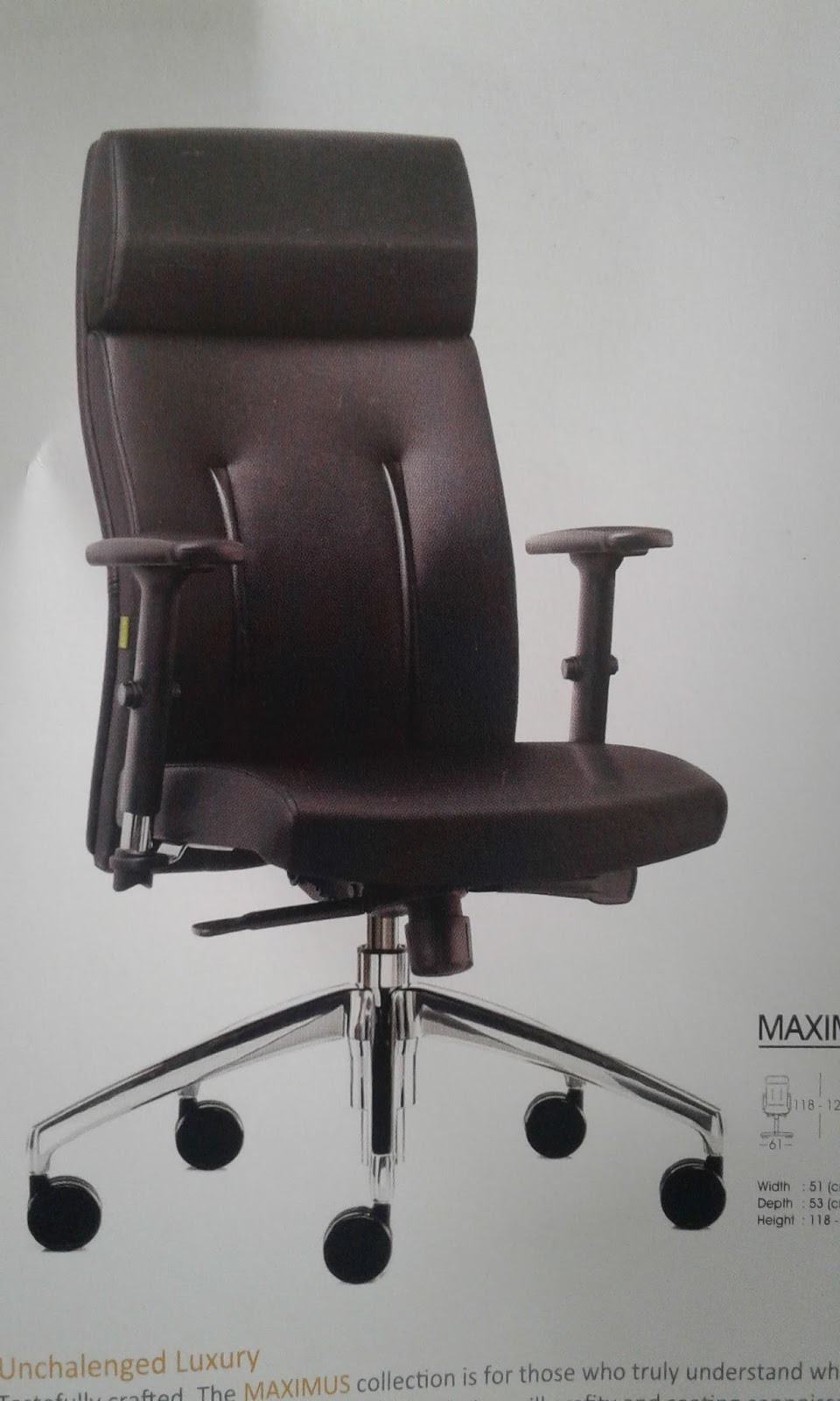 office leather chair. GENUINE OFFICE LEATHER CHAIR BY PT DYNAMIC KHOO INTERIOR FURNITURE Office Leather Chair L