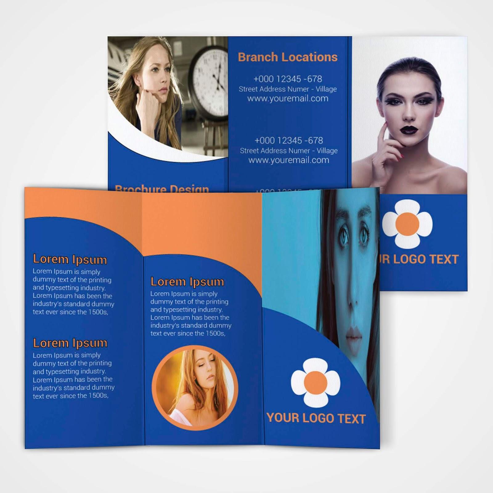 Free Tri-Fold Brochure Template - Download Free Tri-Fold