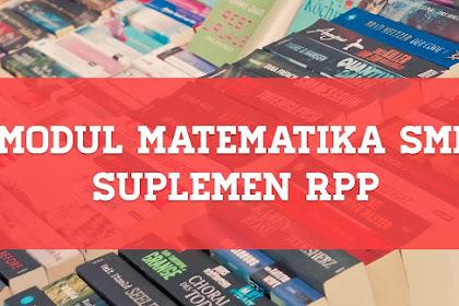 Kumpulan Modul PDF Matematika SMP Kurikulum 2013 Sangat Cocok Untuk Siswa atau Guru