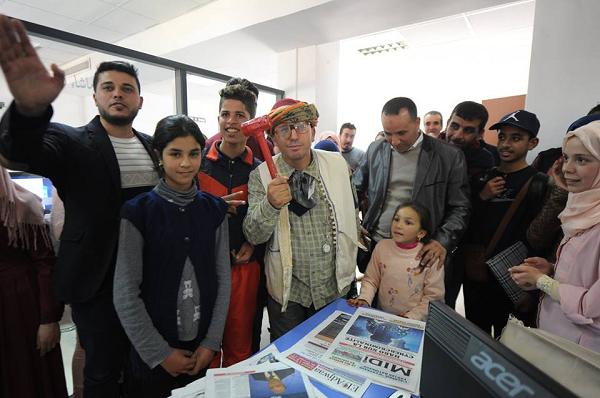 تلاميذ من الشلف في زيارة لقناة النهار