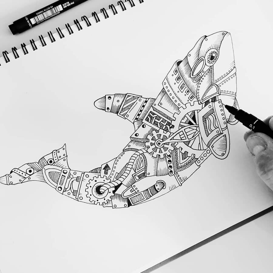 08-Orca-Whale-Steampunk-Steve-Turner-www-designstack-co