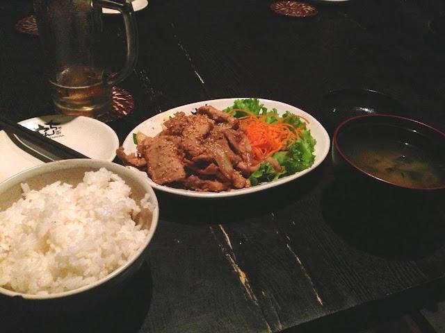 japanese-dishes 豚のしょうが焼き定食