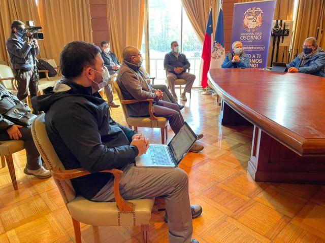 Reunión en Municipio de Osorno