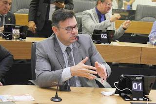 Deputado Raniery Paulino solicita a construção de um condomínio Cidade Madura em Sapé