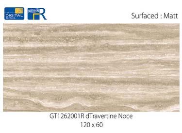 Roman Granit dengan motif Marmer Travertine