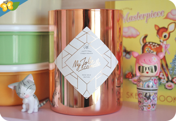 My Jolie Candle - Rode Gold edition