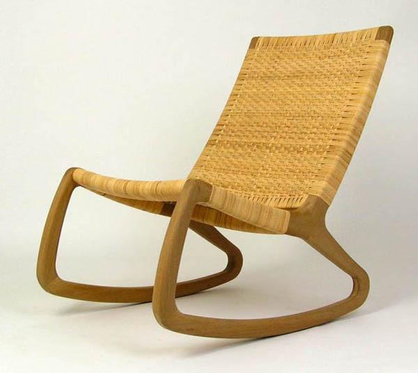 SP210 - Simple Design Rocking Chair | Best Furniture Gallery