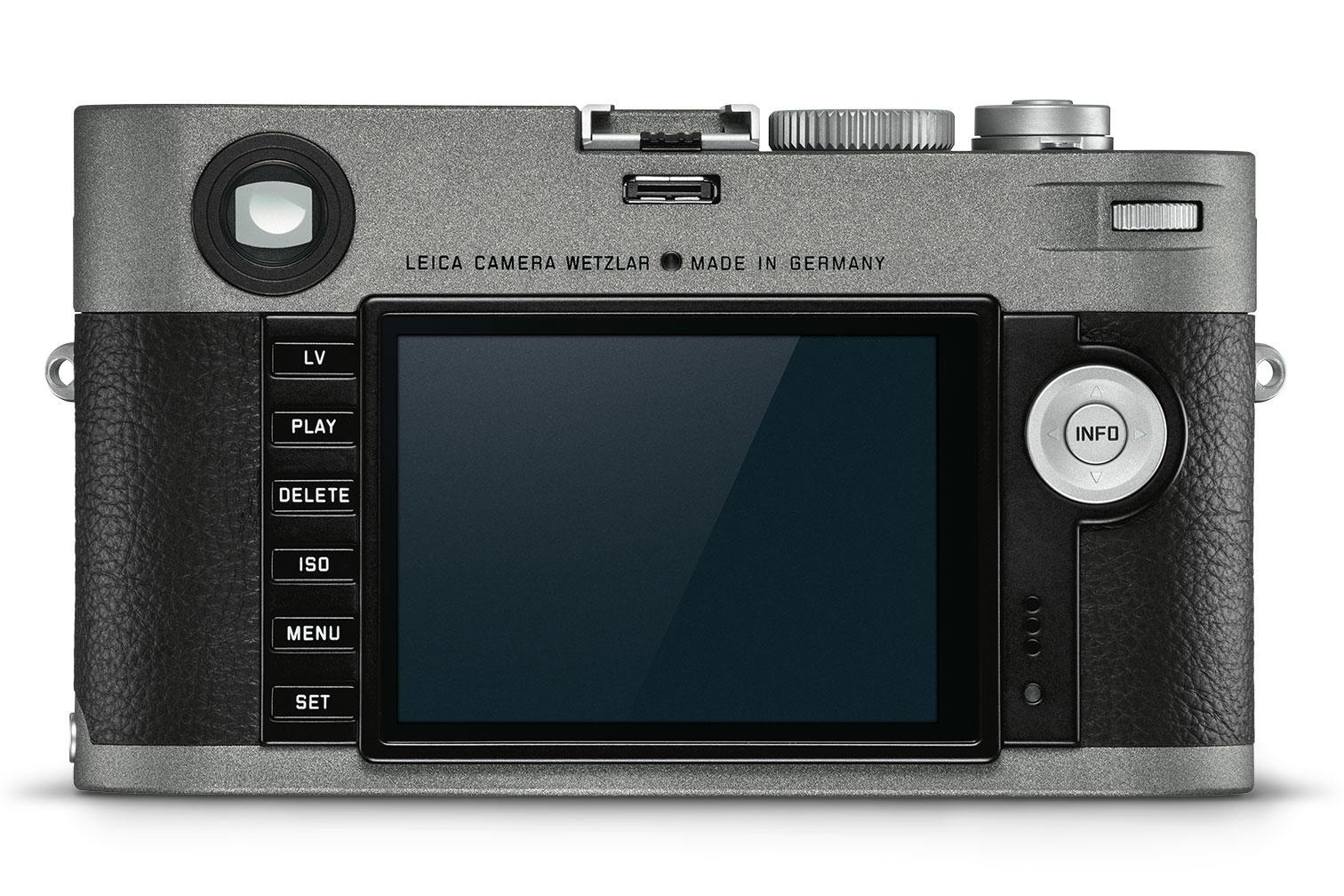 Leica M-E (Typ 240), вид сзади