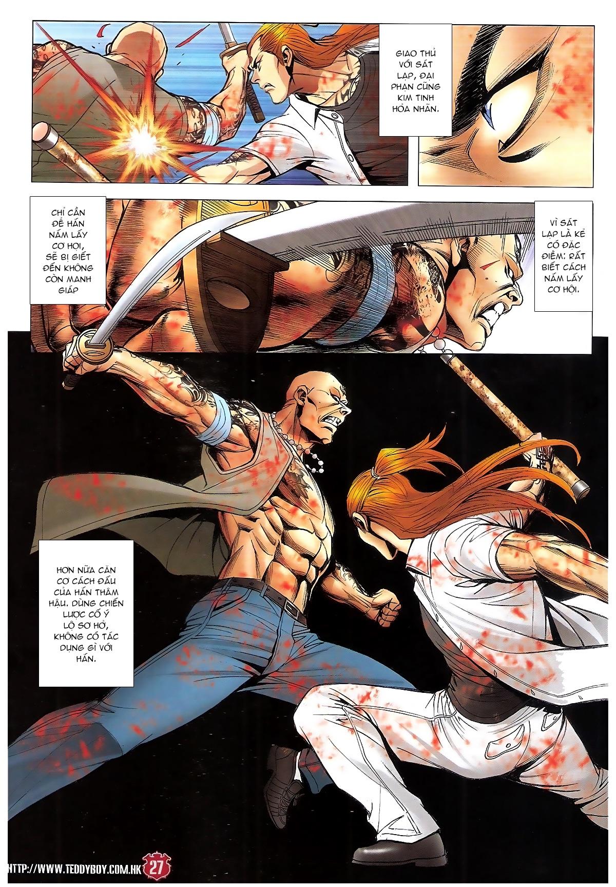Người Trong Giang Hồ chapter 1840: đại phi ác chiến kim tôn quý trang 25