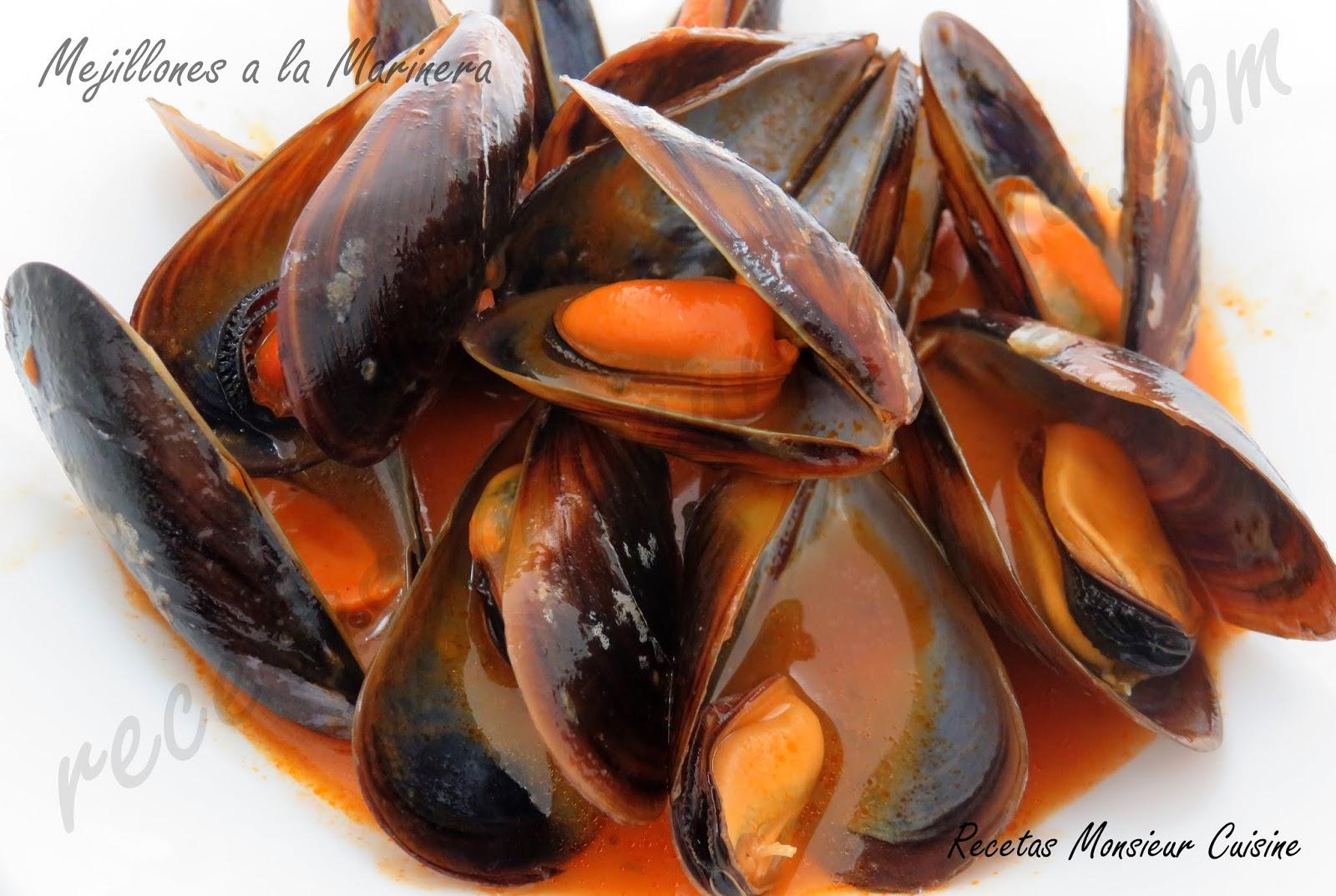 receta salsa para mejillones a la marinera