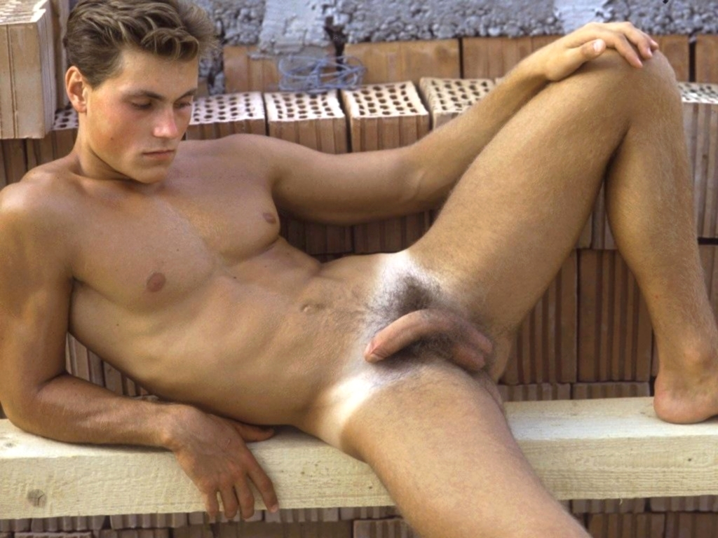 Handsome Naked Male