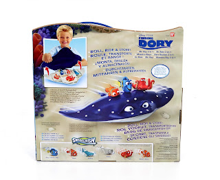 finding dory swigglefish mr. ray case playset