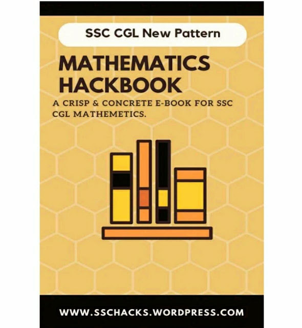 Mathematics Hack Book SSC CGL : for SSC CGL Exams
