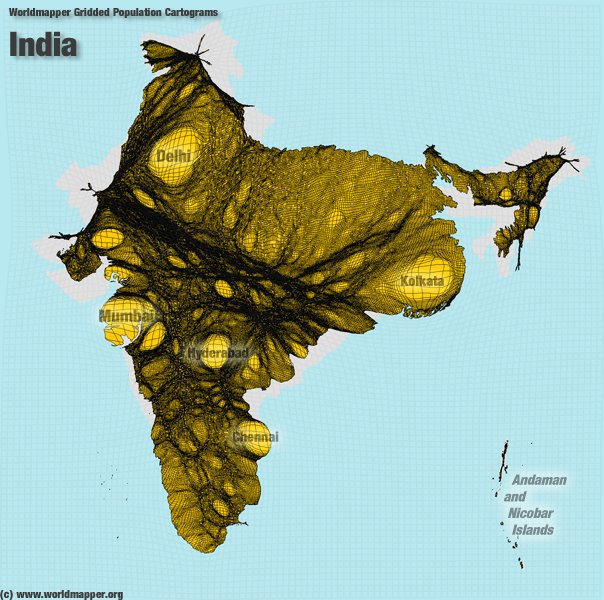India explained in 20 maps