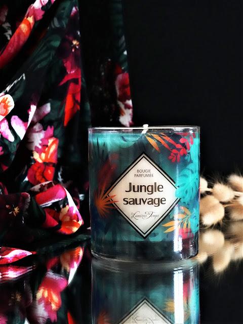 bougie les lumieres du temps, bougie parfum fleuri, bougie, bougies, bougie parfumée cire végétale