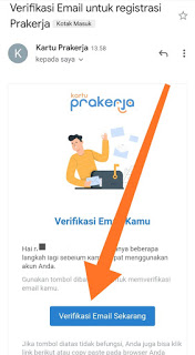 verifikasi email pendaftaran