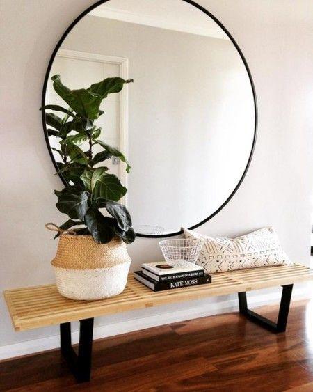 Ideas para decorar recibidores pequeños-14