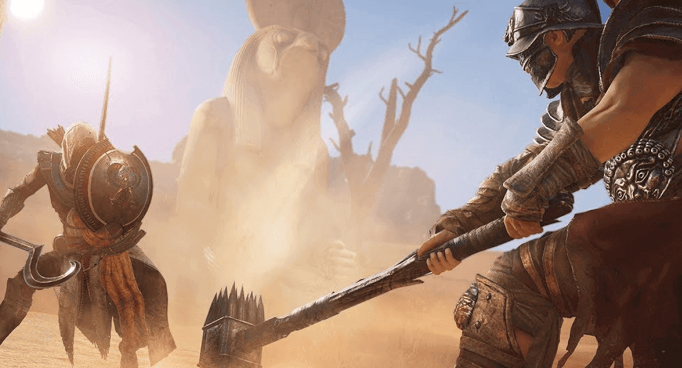 تحميل لعبة assassin's creed origins شامله بحجم صغير