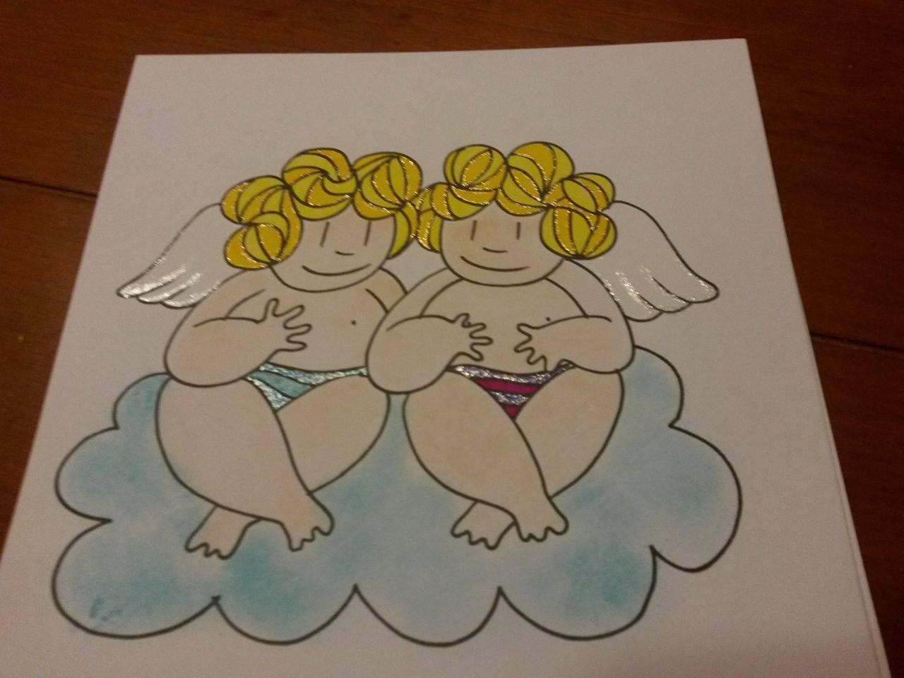 Perfectsweetcolors De Enige Echte Dikke Dames Kleurkerstkaarten