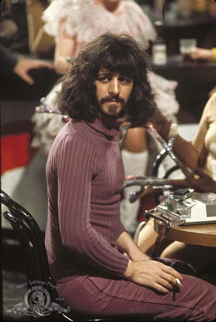 "Ringo Starr as Frank Zappa in ""200 Motels"""