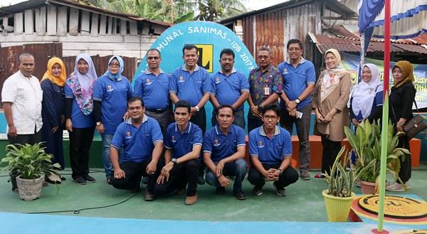 Mukhlis Resmikan IPAL Komunal di Kampung Pondok