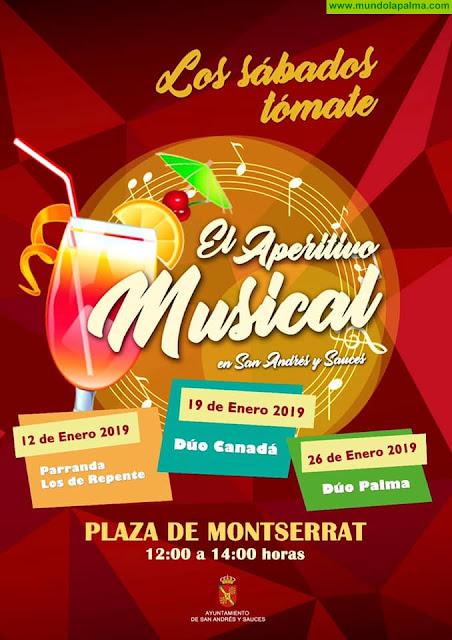 Aperitivo Musical en San Andrés y Sauces