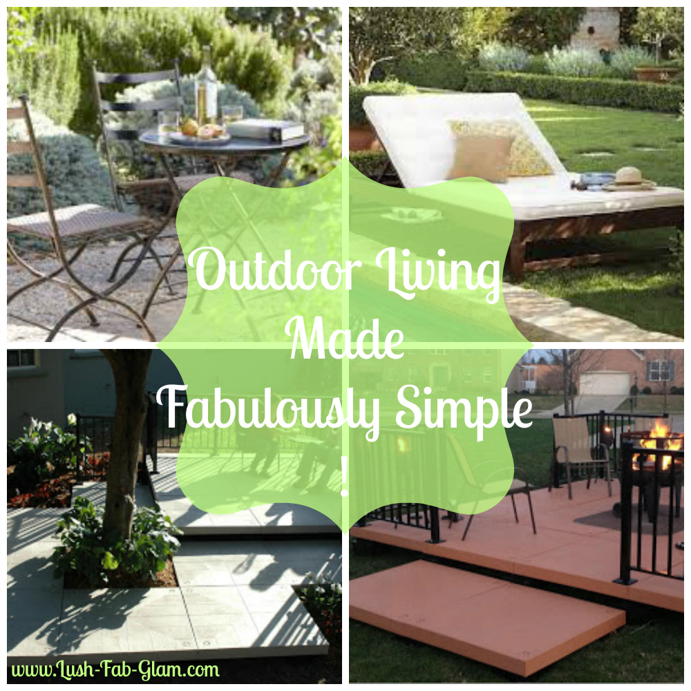 Simple Outdoor Kitchens: Lush Fab Glam Blogazine: Outdoor Living Made Fabulously