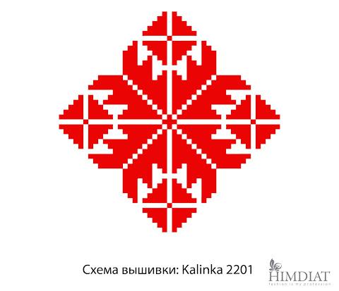 Схема вышивки: Kalinka 2201