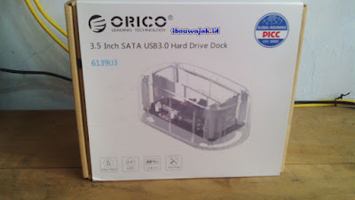 review harddisk docking orico transparan