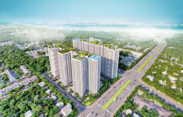 thiết kế hiện đại của chung cư số 1 Trần Thủ Độ