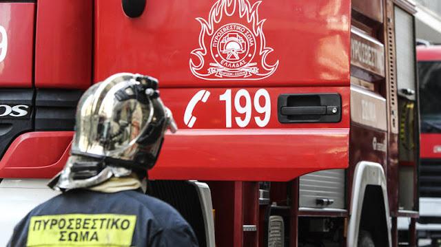 Φωτιά σε δύο οχήματα στην Εγνατία Οδό