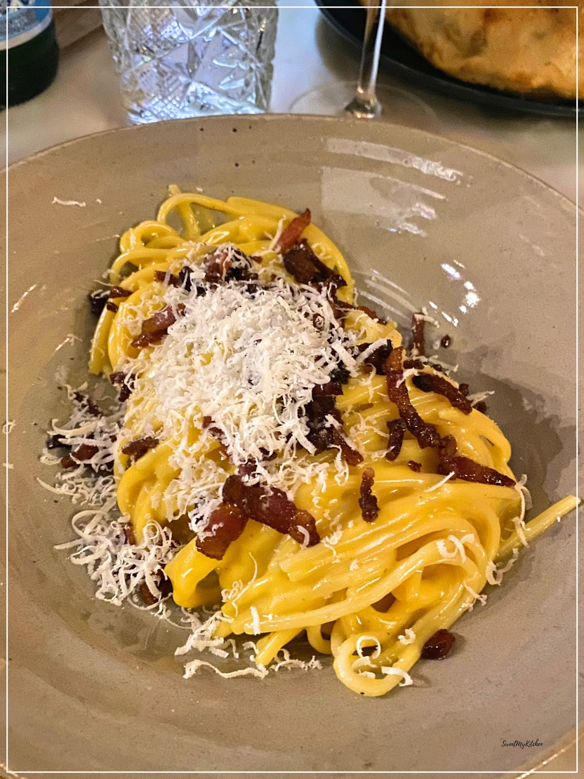 Visconti Chiado restaurante italiano massa fresca Carbonara
