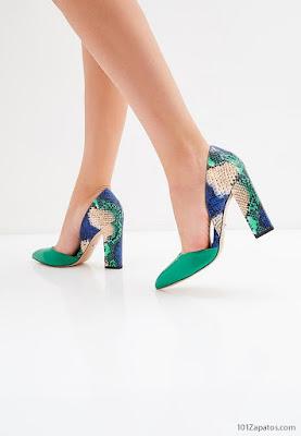 Zapatos de Mujer Verdes