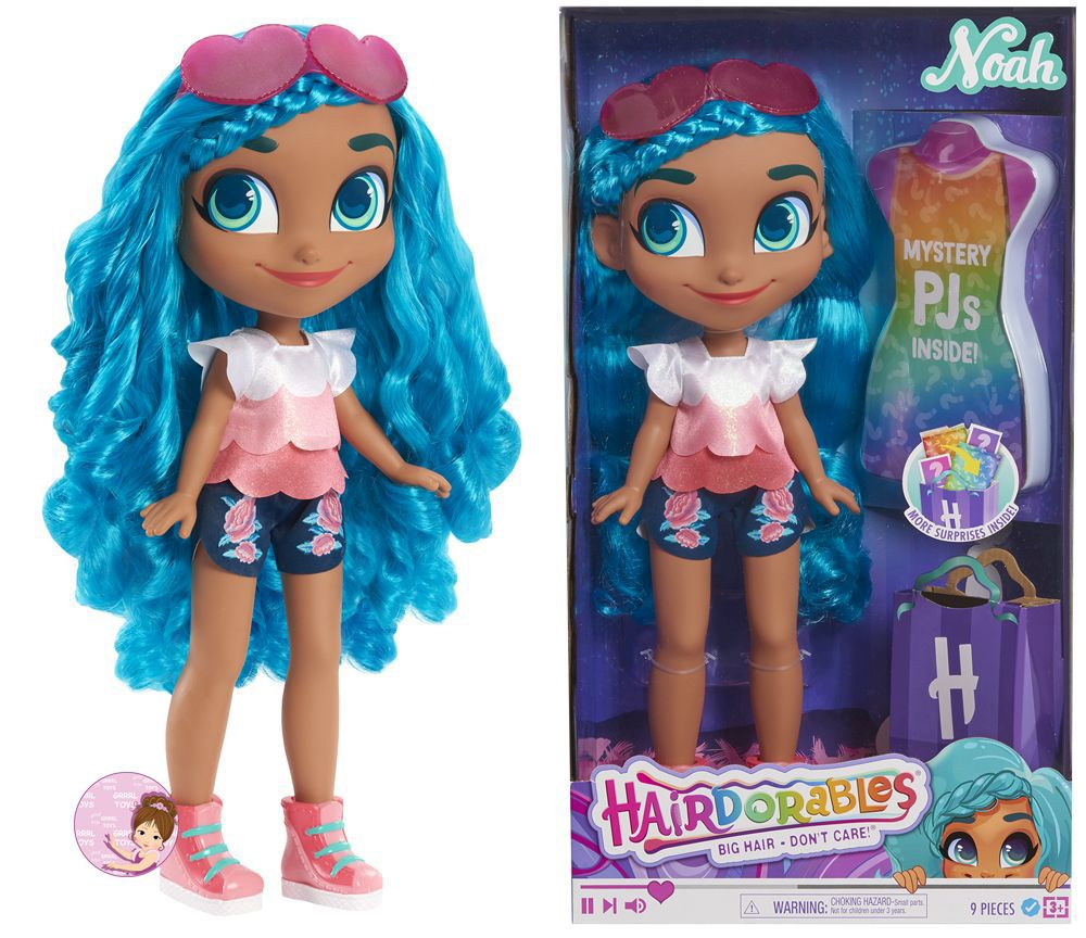 18 inch Noah vlogger Hairdorables mystery fashion doll