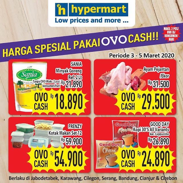 #HYpermart - #Promo Harga Spesial Pakai OVO Cash (s.d 05 Mar 2020)