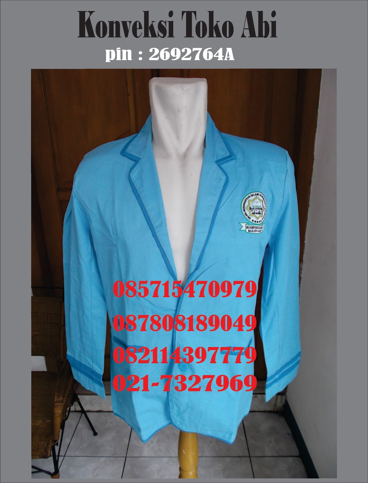 Tempat Pembuatan Jaket Almamater Di Jakarta | Whatsapp. 0857-7106-2589 | Telp. 0857-1547-0979