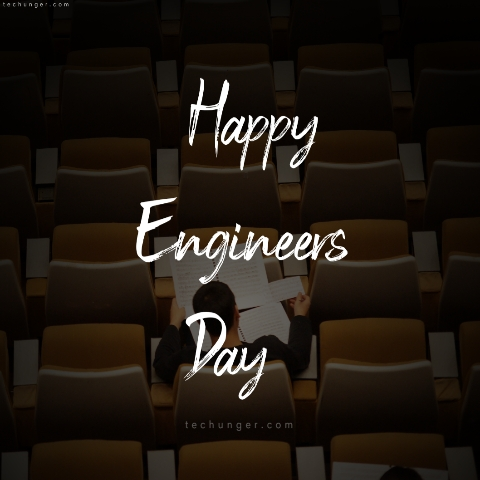 Engineers Day wishes, posters, Flyers