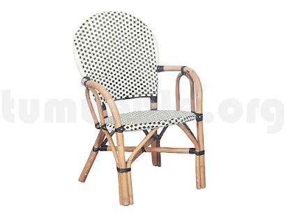 sillón rattan sinteico 515P