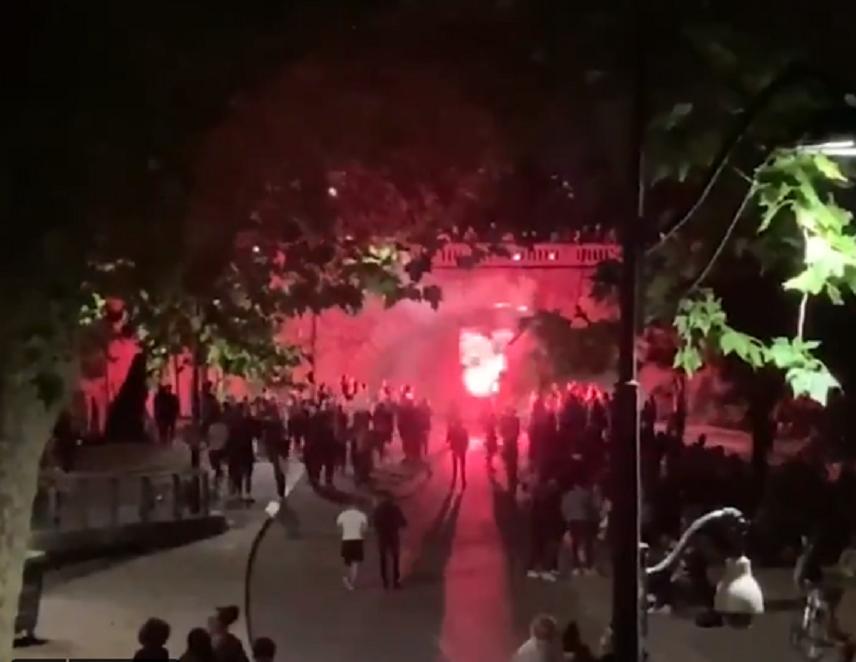 VIDÉO : Projet X: une nouvelle soirée de rassemblement de jeunes à Paris